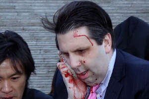 U.S. ambassador to South Korea slashed in knife attack - Photo