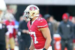 Report: 49ers shopping LB Michael Wilhoite - Photo