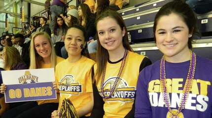 Were you Seen at the UAlbany men's basketball game again