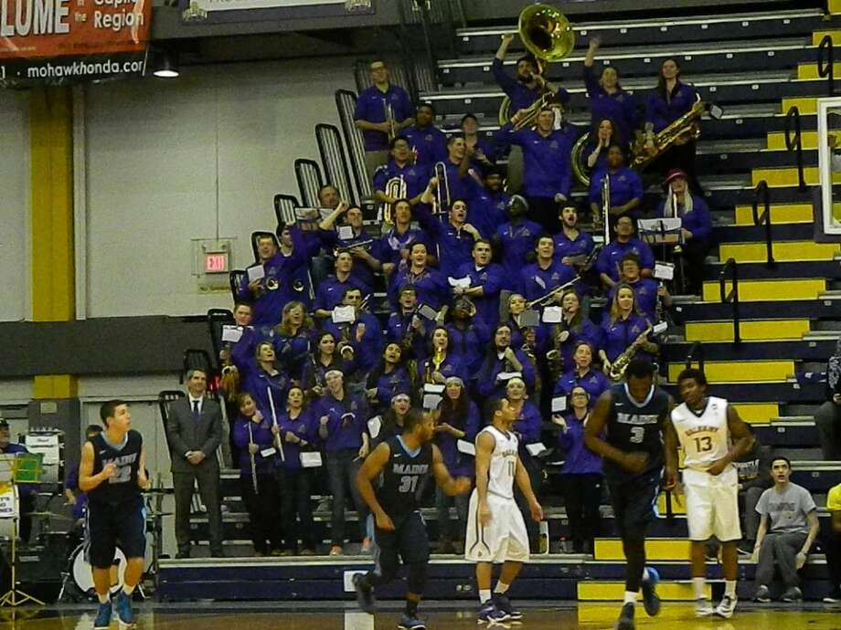 Were you Seen at the UAlbany men's basketball game against Maine in the first round of the America East Conference Tournament at SEFCU Arena on the UAlbany campus on Wednesday, March 4, 2015? Photo: Era Bushati