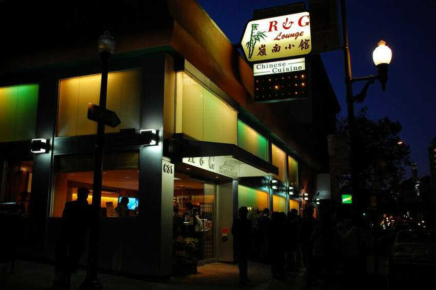 The R&G Lounge in Chinatown.