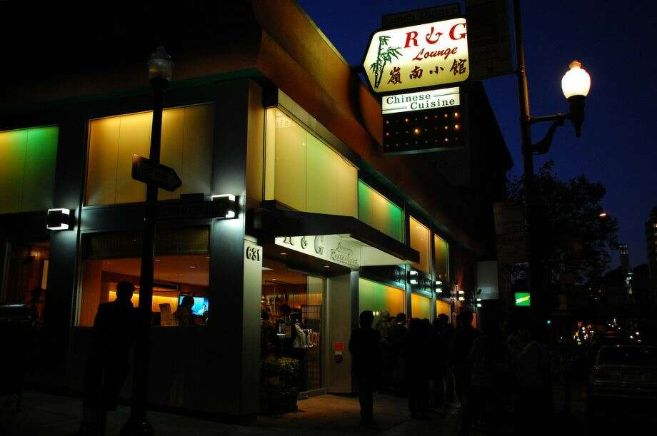The R&G Lounge in Chinatown. Photo: The Chronicle