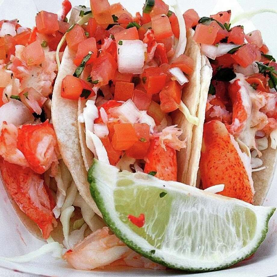 Lobster tacos from the Cousins Maine Lobster truck. Photo: Cousins Maine Lobster Facebook