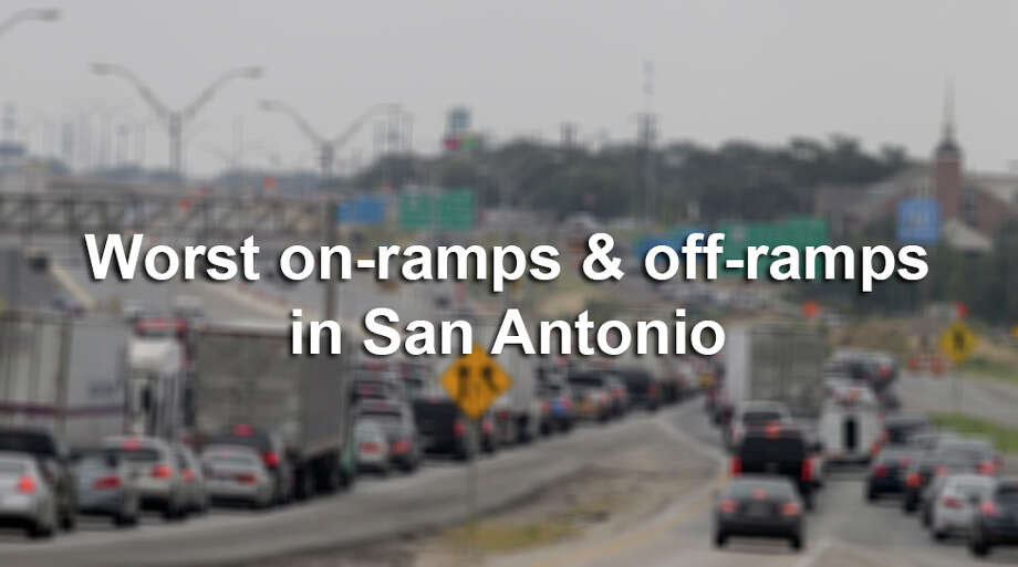 These highway intersections make commuting around S.A. a nightmare, and yet we constantly find ourselves taking them.Have a bad on-ramp/off-ramp suggestion for our list? Leave a comment or feel free to email your suggestions. Photo: JOHN DAVENPORT, SAEN / ©San Antonio Express-News/John Davenport