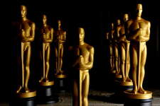 Freshly painted Oscar Statues in preparation for the Governors Awards and the 82nd Academy Awards at a secret location on October 19, 2009 in Northern Los Angeles County, California. (Photo by Kristian Dowling/Getty Images)