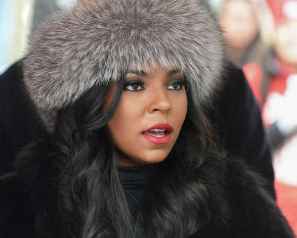 Singer Ashanti arrives for a pro charter rally at the Capitol Wednesday March 4, 2015 in Albany, NY.  (John Carl D'Annibale / Times Union) Photo: John Carl D'Annibale, Albany Times Union / 00030815A
