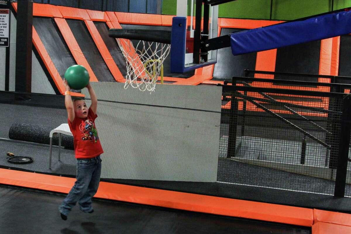 Flip'z Trampoline Park, located at 910 SE Military Drive, offers a fun way to ensure children get proper exercise throughout the week.