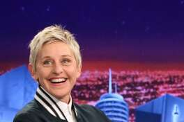 ELLEN DEGENERES, comedian: Although massively popular talk-show host and comedian Ellen DeGeneres is an example of positive self-image and being yourself despite pressures to conform, she's also been outspoken against companies and people who are prejudiced against people for their size.