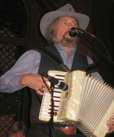 Augie Meyers sets his sights on the Texas Folklife Festival, a rare appearance for him there. Photo: Express-News File Photo / JBEAL@EXPRESS-NEWS.NET