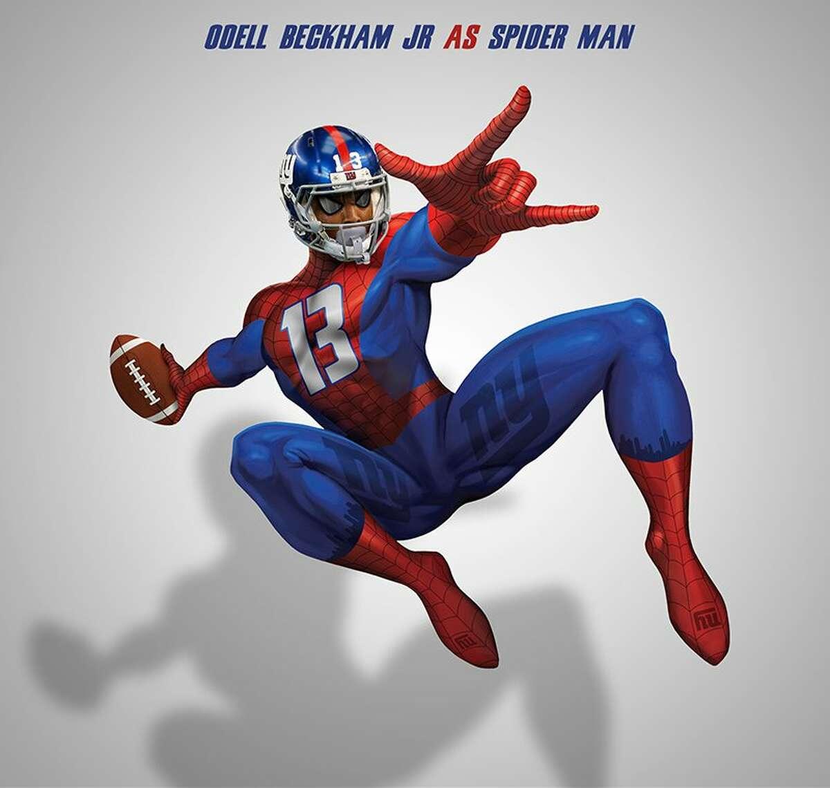 Odell Beckham Jr. as Spider Man
