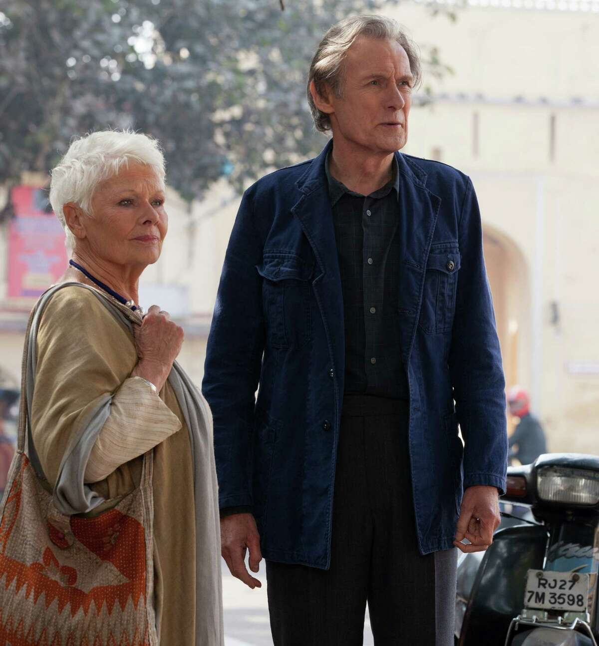 This image released by Fox Searchlight Films shows Judi Dench, left, and Bill Nighy in a scene from