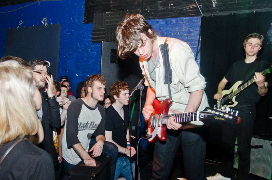 Critically acclaimed Danish punk band Iceage will play as part of the Paper Tiger's free, three-day opening weekend. Photo: Getty Images / 2011 The Washington Post
