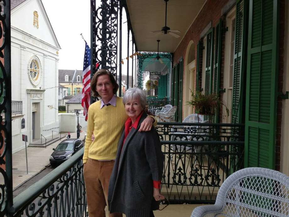 "Greenwood King's Texas Anderson met her son Wes Anderson in New Orleans after his movie, ""The Grand Budapest Hotel"" won four Academy Awards."