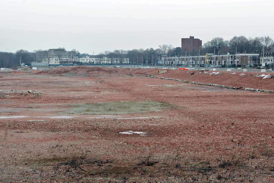 The former GE property on Boston Ave. in Bridgeport, Conn. is the site of a proposed new high school that would replace Harding High School. DEEP has given the project the green light to go forward. Photo: Ned Gerard / Connecticut Post