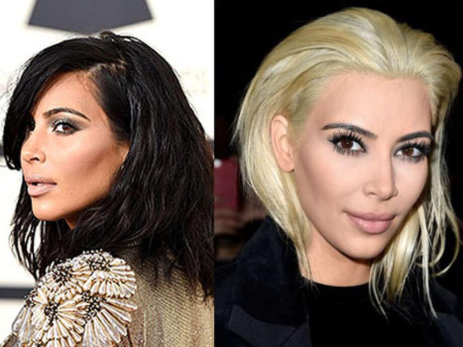 Kim KardashianBlond or not?