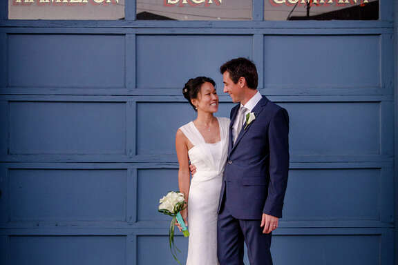 Phuong Quach and Brian Thoms married Nov. 9 in Oakland.