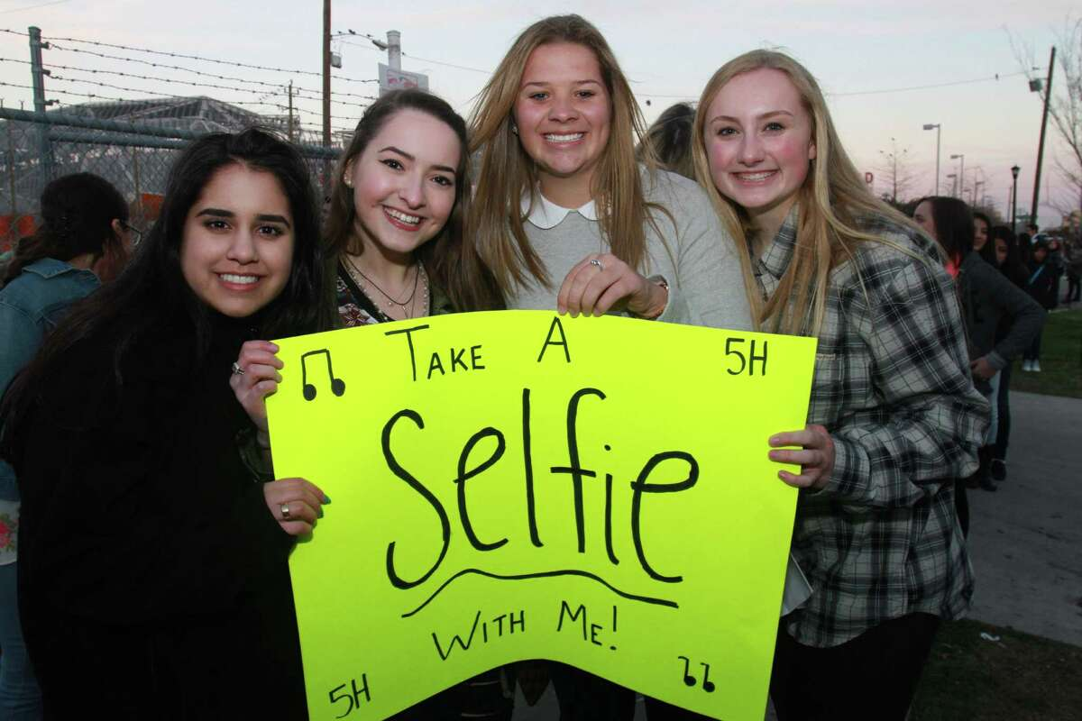 Fans at Fifth Harmony's show at Warehouse Live on Thursday night.