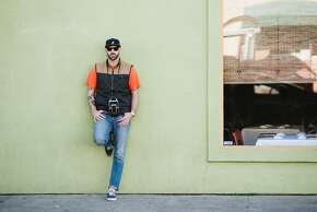 Aaron Durand's Street Style Photographed in the Outer Sunset District