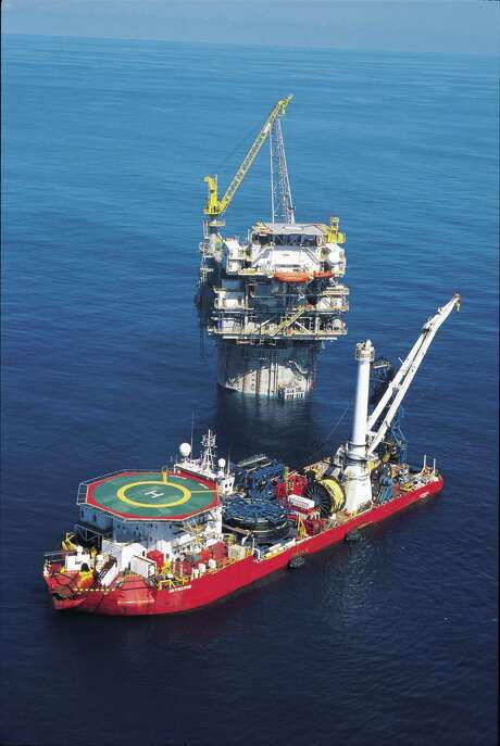 Cal Dive International, which provides maintenance services for offshore facilities and pipelines, has filed for Chapter 11. / handout email / Katherine Feser