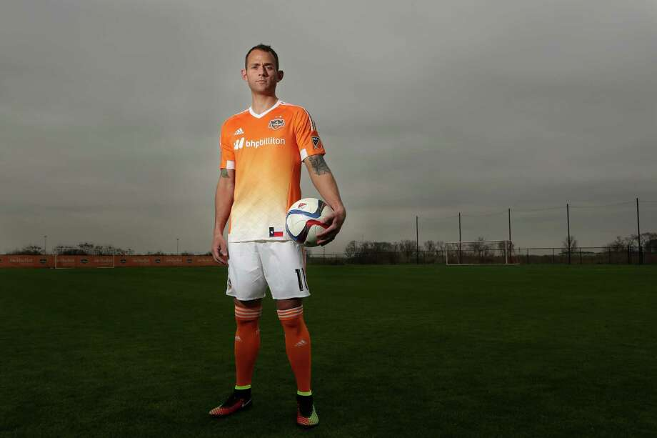 Brad Davis returns as Dynamo captain and a mainstay in the midfield, where the team returns five players who were regular starters in 2014. Photo: Mayra Beltran, Staff / © 2015 Houston Chronicle