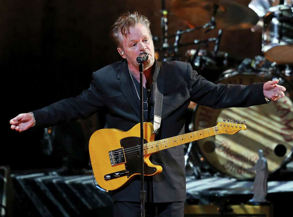 John Mellencamp performs Thursday March 5, 2015 at the Tobin Center for the Performing Arts.