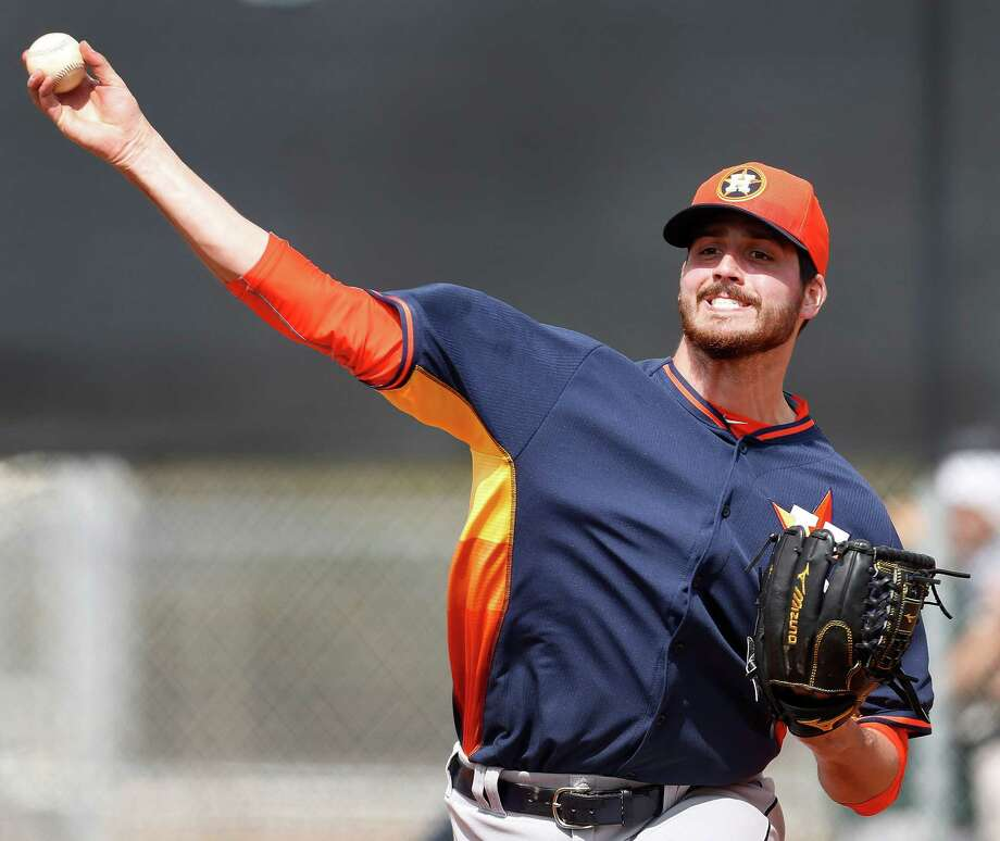 Righthander Mark Appel is the type of power arm that Roger Clemens sees as a necessity and Nolan Ryan values but doesn't view as a must on a staff. Photo: Karen Warren, Staff / © 2015 Houston Chronicle