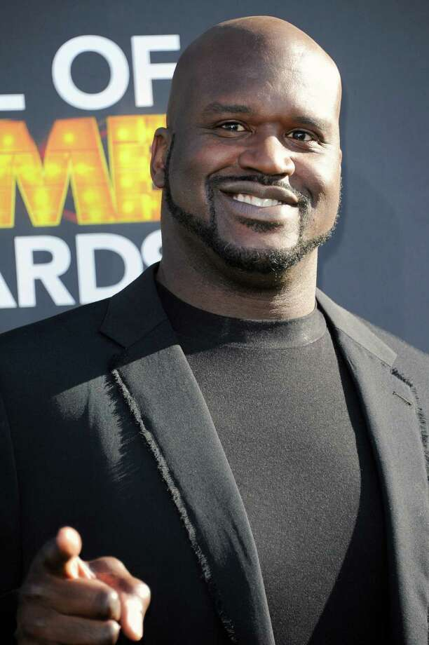 """Shaquille O'Neal arrives at The 3rd Annual Cartoon Network's """"Hall of Game"""" Awards at The Barker Hangar on Saturday, Feb. 9, 2013 in Los Angeles. (Photo by Richard Shotwell/Invision/AP) Photo: Richard Shotwell / Invision"""