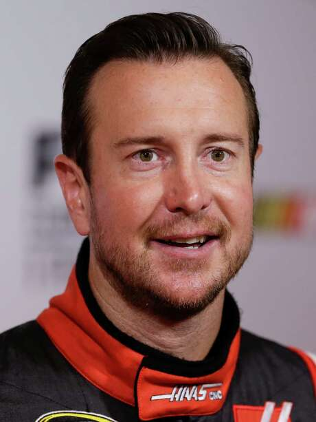Kurt Busch at NASCAR media day at Daytona International Speedway, Thursday, Feb. 12, 2015, in Daytona Beach, Fla. (AP Photo/John Raoux) Photo: John Raoux, STF / AP