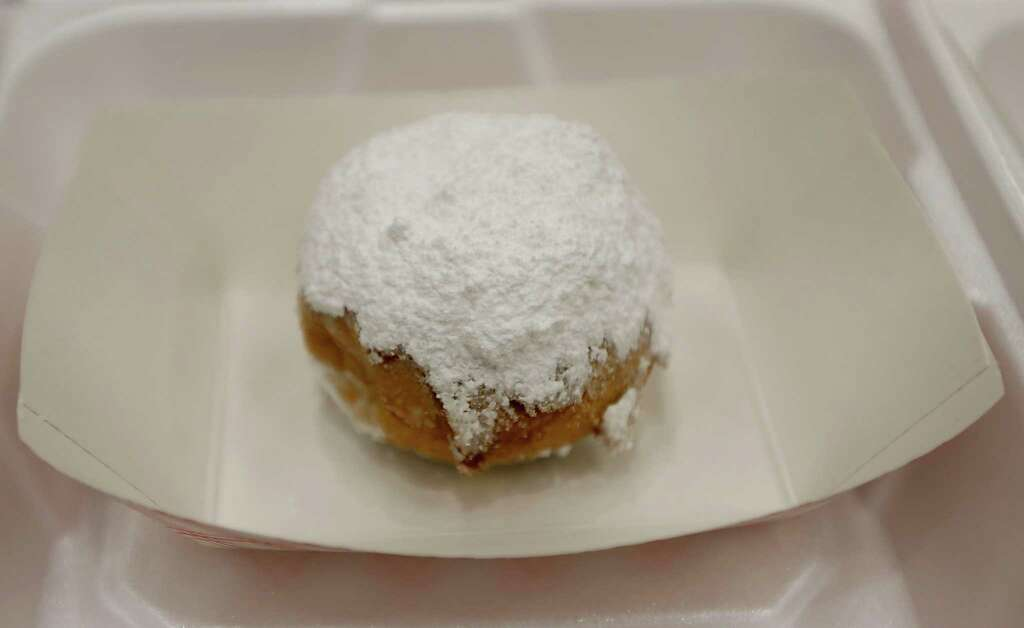 Fry everythingYou're looking at a fried brownie ball from the Houston Livestock Show and Rodeo. Delicious. Photo: James Nielsen, Staff / © 2015 Houston Chronicle