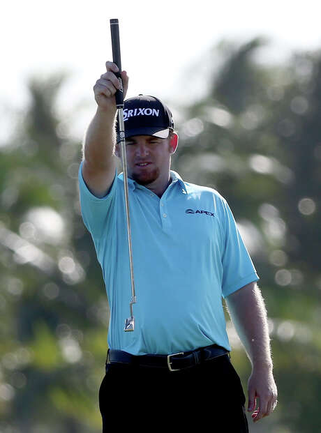 Everything lined up perfectly Thursday for J.B. Holmes, who leads the Cadillac Championship by four strokes. Photo: Sam Greenwood, Staff / 2015 Getty Images