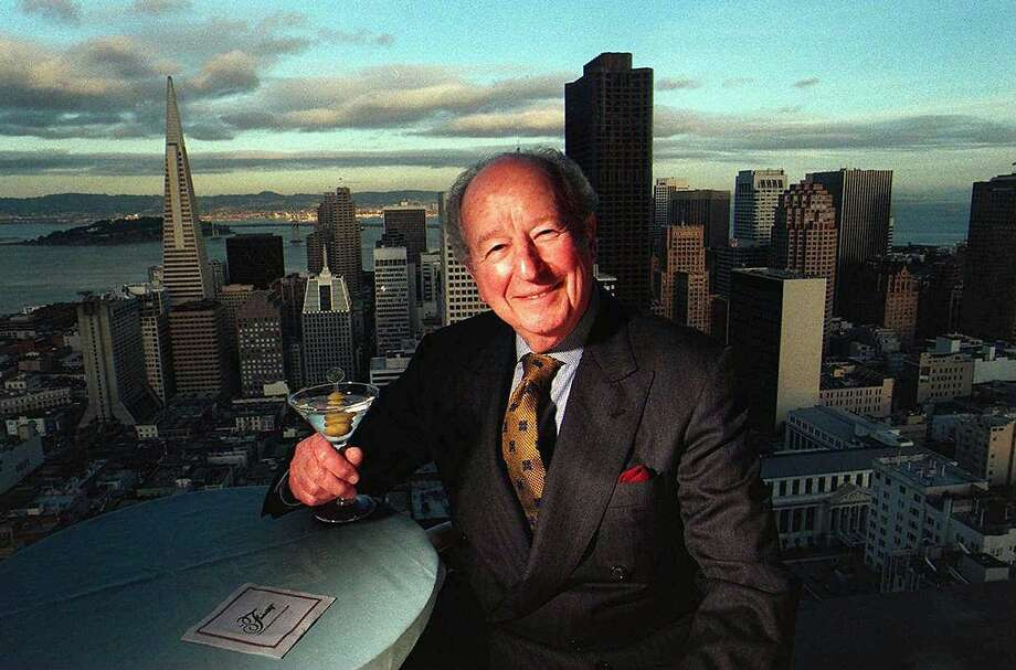 Pulitzer Prize-winning Chronicle three-dot columnist Herb Caen has been gone now for 18 years. Photo: Russell Yip, The Chronicle