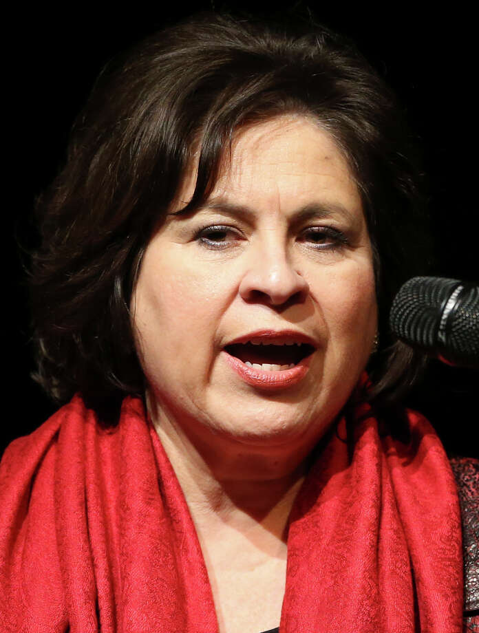 Leticia Van De Putte speaks as candidates  participate in a mayoral forum at Northwest Vista College's Pametto Performing ARts Center on March 5, 2015. Photo: Tom Reel / San Antonio Express-News