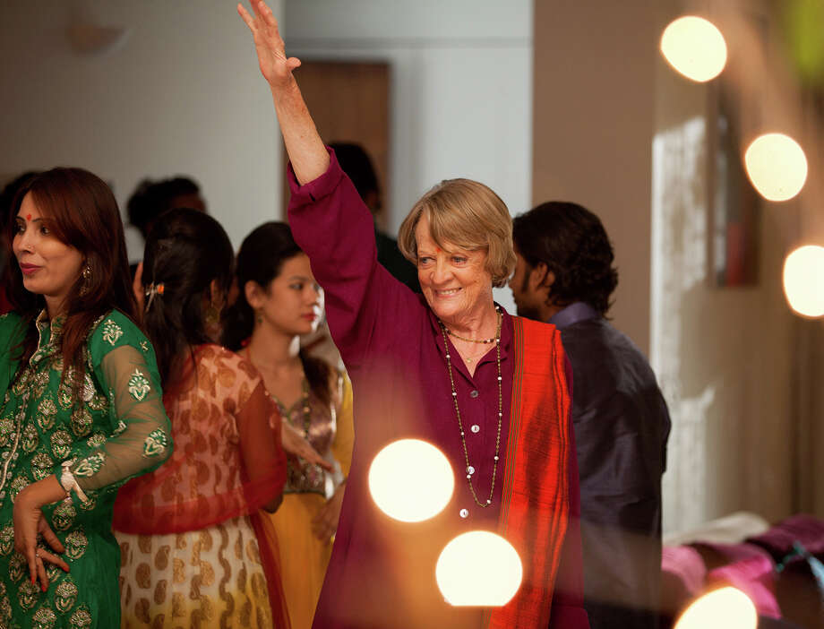 """Maggie Smith returns as Muriel Donnely in """"The Best Exotic Marigold Hotel."""" Illustrates FILM-MARIGOLD-ADV06 (category e), by Ann Hornaday © 2015, The Washington Post. Moved Wednesday, March 4, 2015. (MUST CREDIT: Laurie Sparham/Fox Searchlight Pictures.) Photo: HANDOUT / THE WASHINGTON POST"""