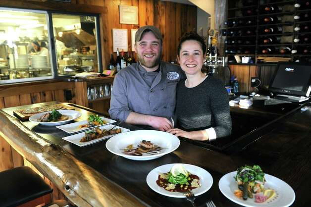 Chef Andrew and Conny Chase owners of The Flammerie on Wednesday Feb. 25, 2015 in Kinderhook, N.Y. (Michael P. Farrell/Times Union) Photo: Michael P. Farrell / 00030744A