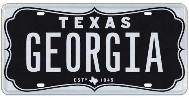 license plate auction is a texas sports fan 39 s dream beaumont enterprise. Black Bedroom Furniture Sets. Home Design Ideas