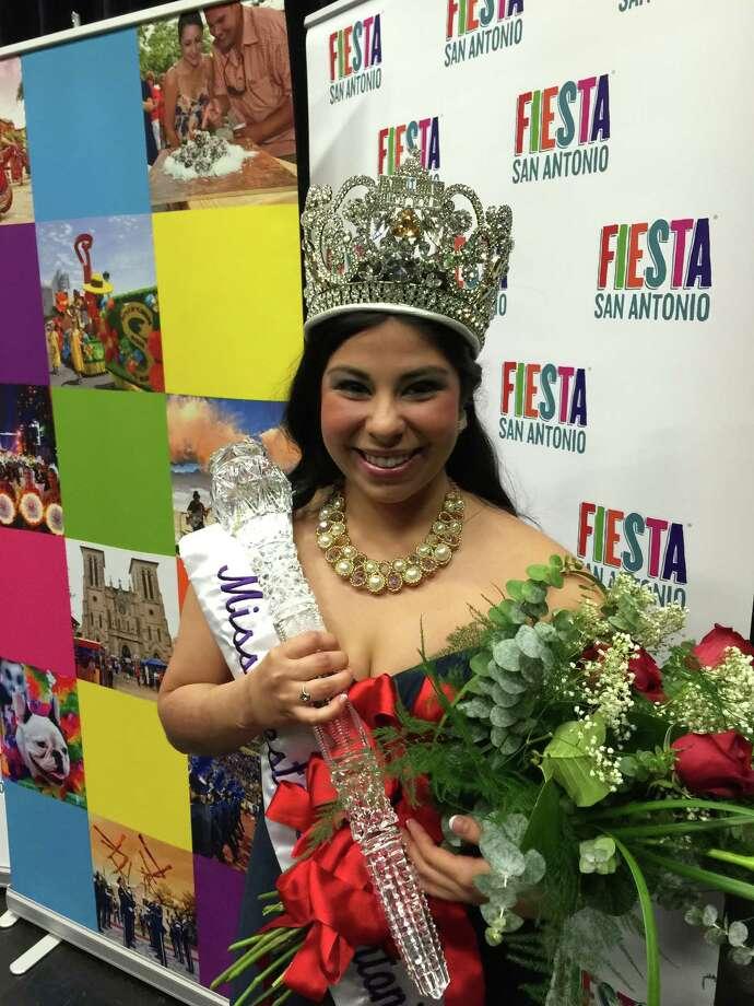 University of the Incarnate Word student, Alixzandria Pena, is Miss Fiesta 2015. Photo: Provided By Fiesta San Antonio Foundation