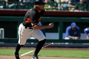 GIANTS UPDATE: Upbeat Pence says broken arm will be a 'blessing' - Photo