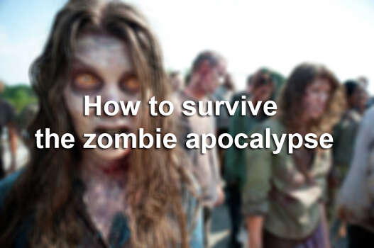 When the zombie apocalypse comes, there will be little time for hesitation. You should plan now and be ready for when the dead roam. Photo: Gene Page, AP Photo / ONLINE_YES