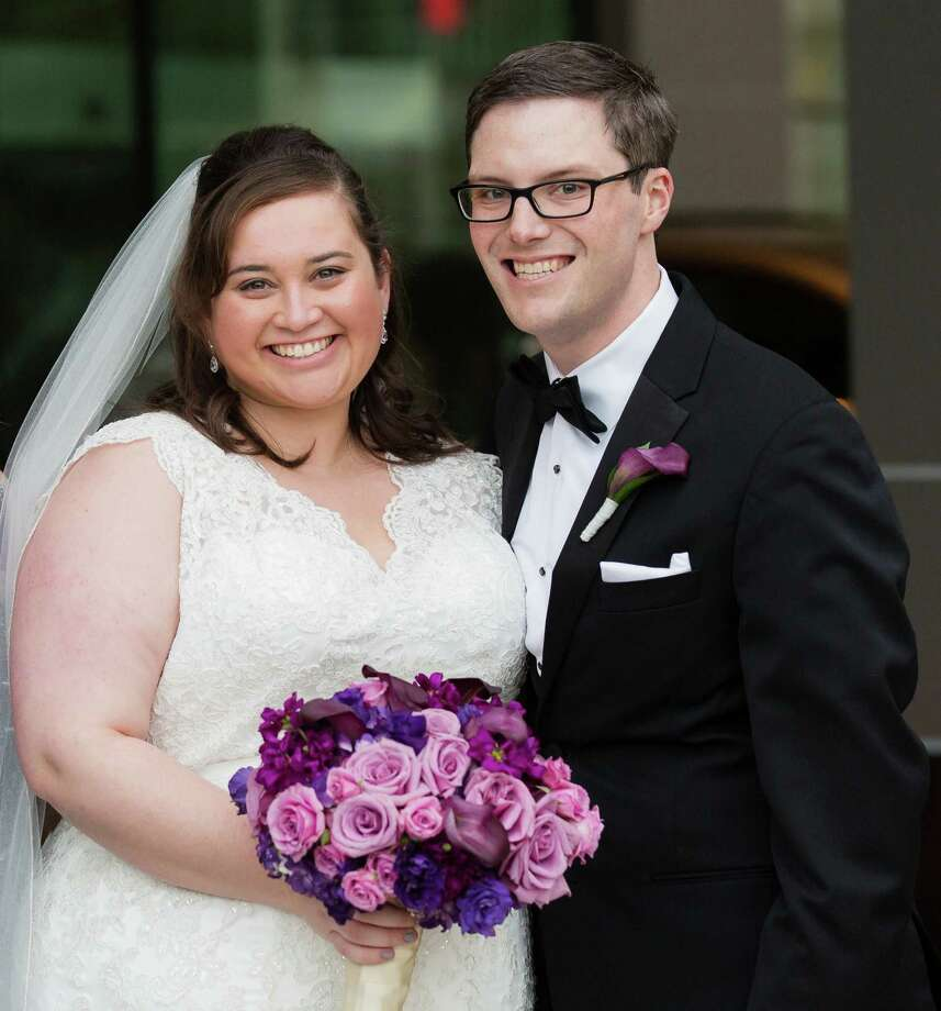 Amelia West and Matthew Suermann were married Nov. 1 in Arlington, Va. Westport CT. March 2015. Photo: Picasa, Westport News/Contributed Photo / Westport News