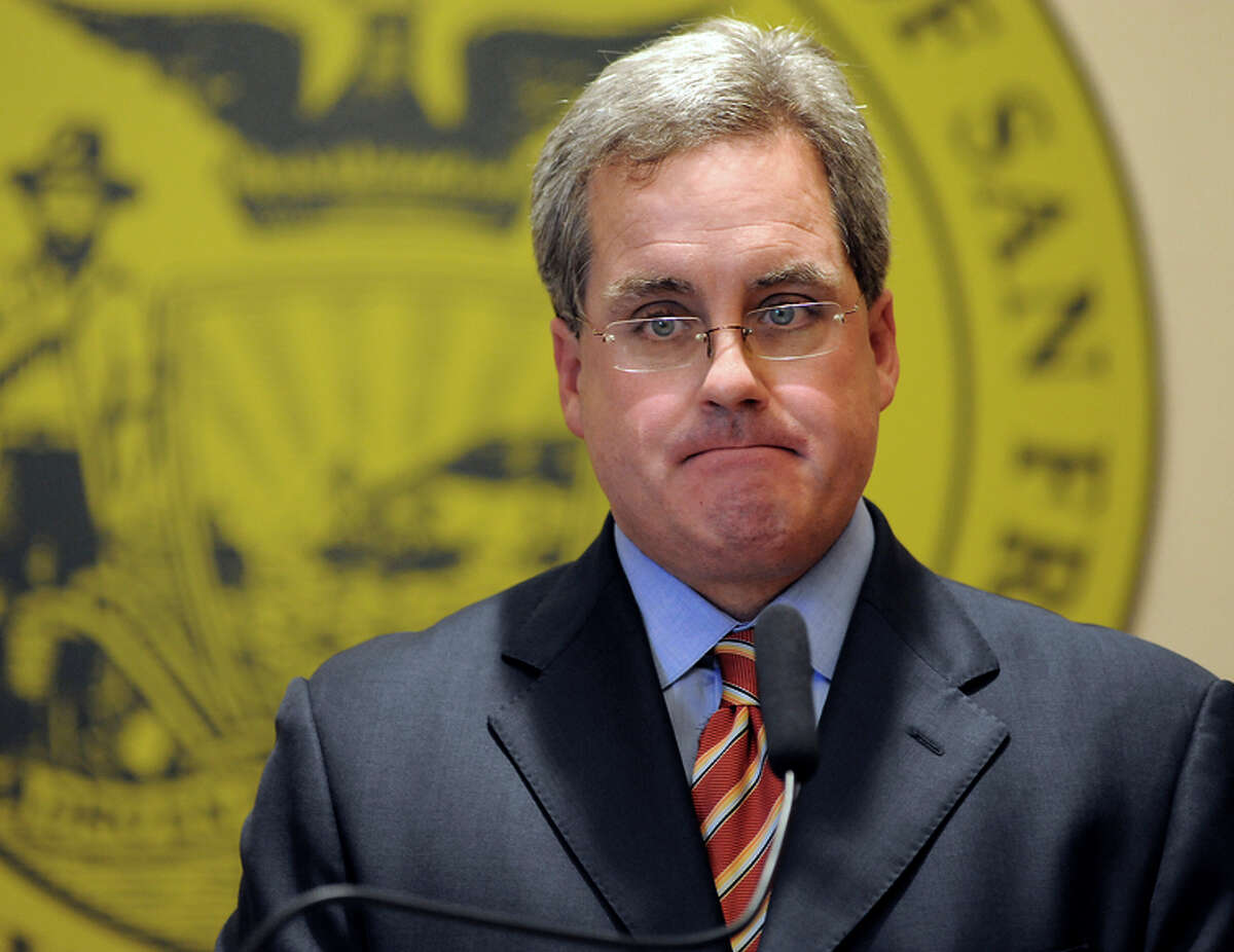City Attorney Dennis Herrera opposes Archbishop Salvatore Cordileone's morality clauses.