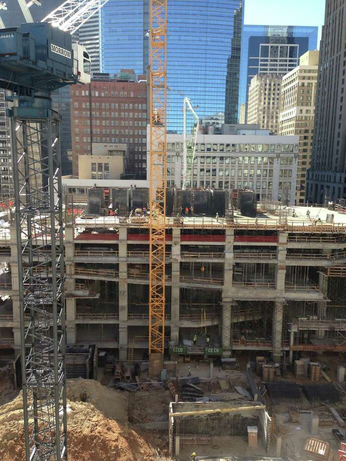 TDIndustries is handling the plumbing and air conditioning systems at 609 Main, a 48-story office tower being developed by Hines in downtown Houston. Photo: Katherine Feser