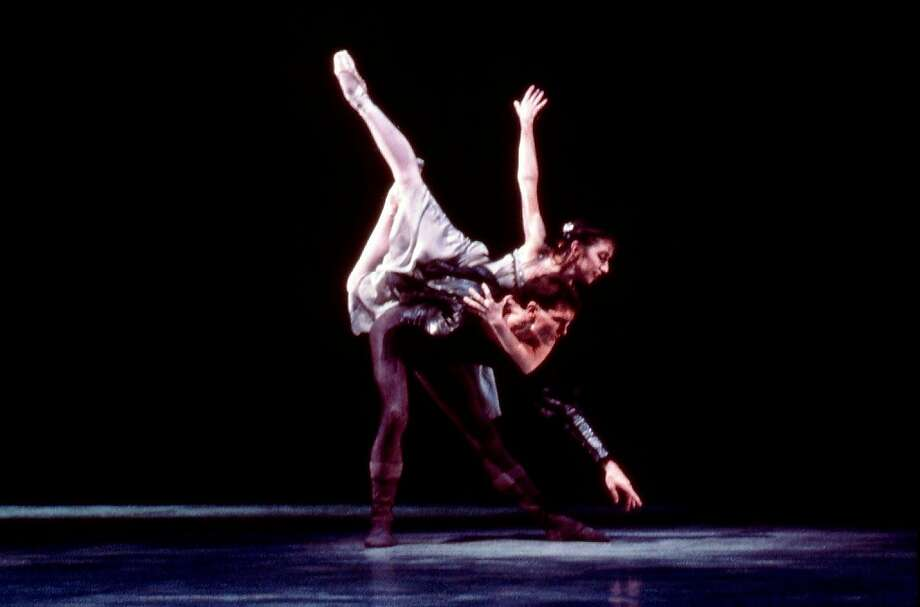 "Former San Francisco Ballet principal dancer Joanna Berman, dancing Val Caniparoli's ""Hamlet and Ophelia"" with Jim Sohm in 1986, is staging the piece for Diablo Ballet dancers. Photo:  San Francisco Ballet"