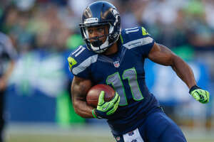 Percy Harvin's time in Seattle was short — he was a member of the Seahawks for just a year and seven months from 2013 to 2014. (Otto Greule Jr/Getty Images)