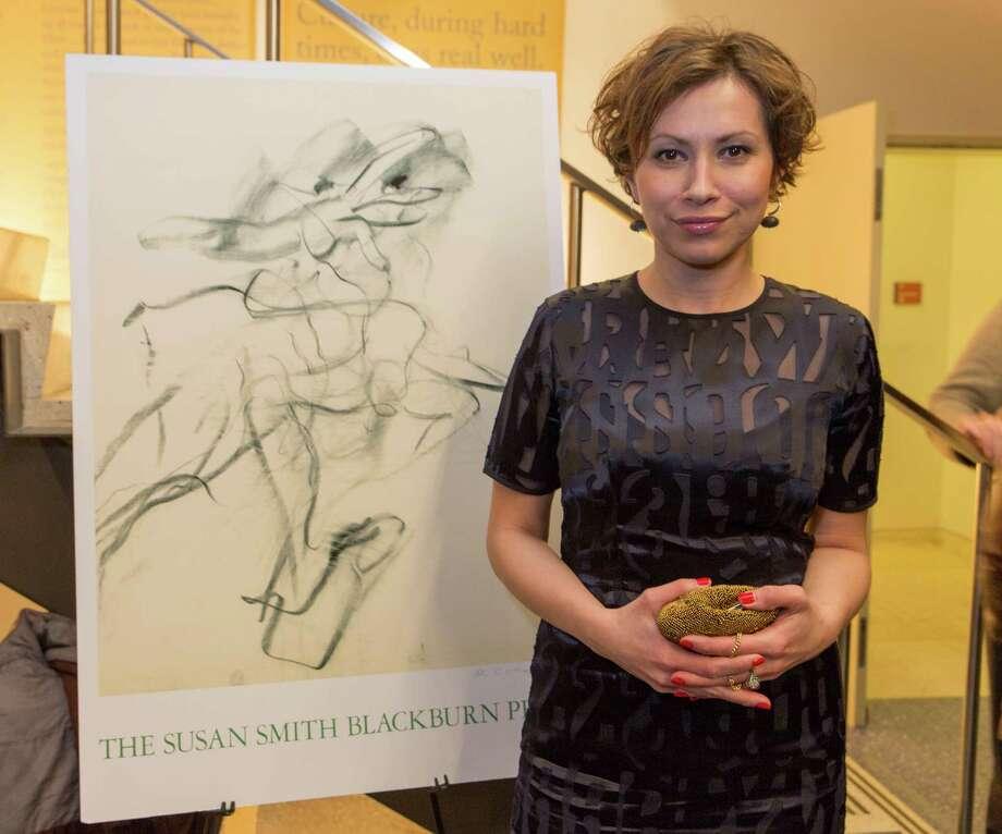 Playwright Tena Stivicic, winner of the 2015 Susan Smith Blackburn Prize. Photo: Richard Termine / © 2015 Richard Termine