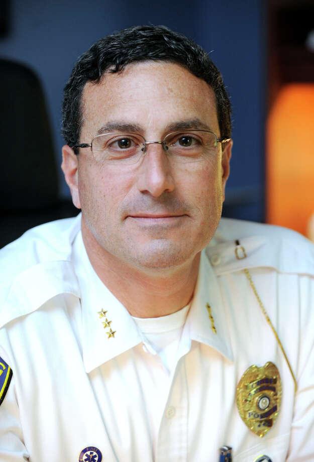 Redding Police Chief Douglas Fuchs. Photo: Carol Kaliff / The News-Times