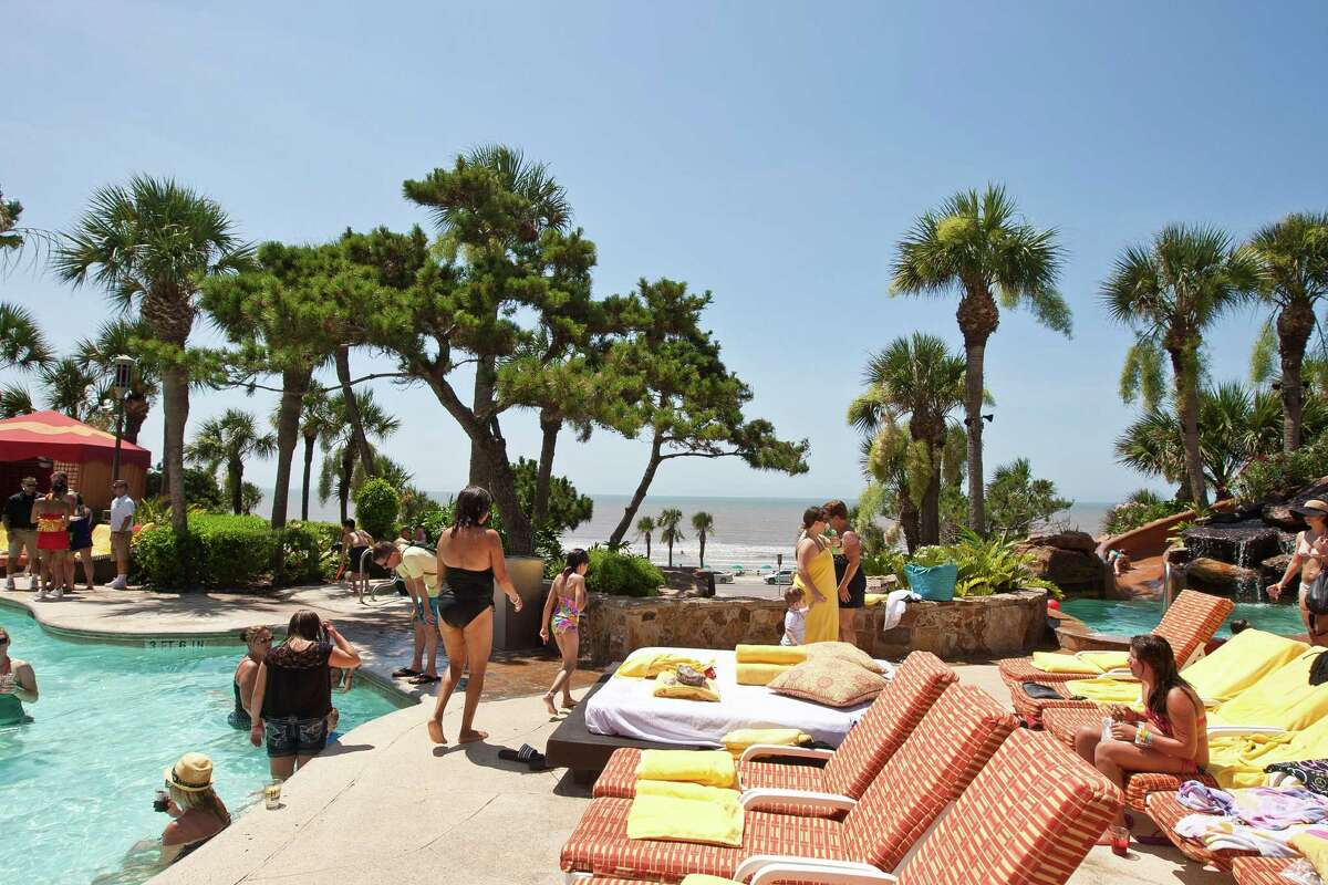 Beaches Galveston The luxurious San Luis Resort is great for a nearby getaway with all of the amenities you need.