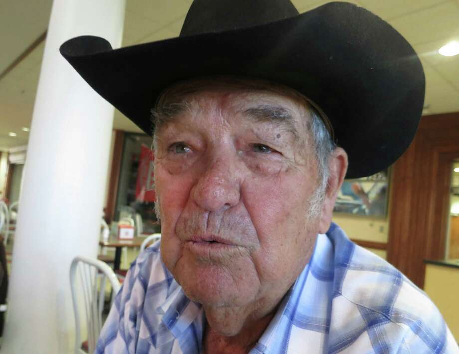 Apache Adams, who lives in Bronte, was telling stories long before there was a cowboy poetry gathering. Photo: Joe Holley / Houston Chronicle