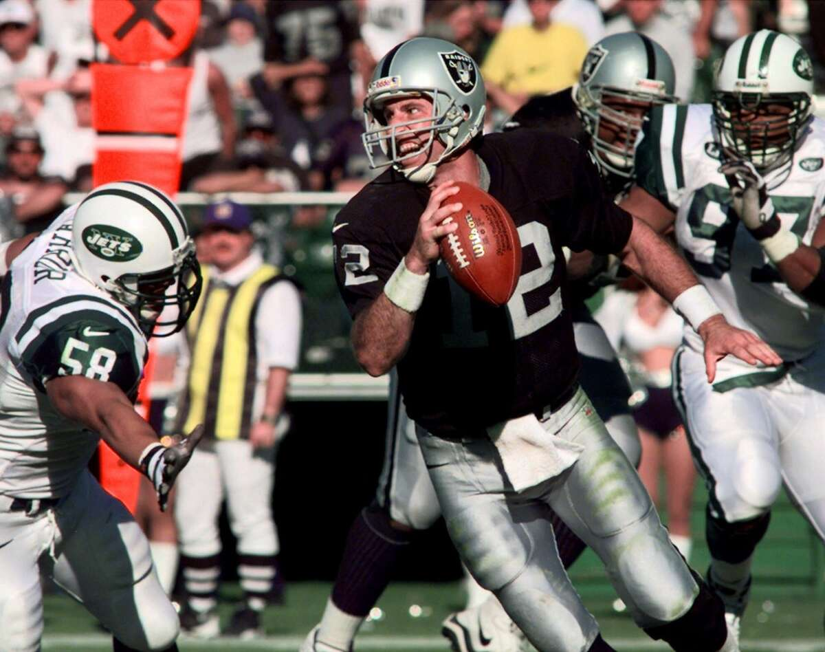 Rich Gannon, Raiders Position: Quarterback When: 1999 Contract: Four years, $16 million Why he's a steal: An 11-year journeyman at the time, Gannon made four straight Pro Bowls after landing in head coach Jon Gruden's pass-happy West Coast offense and was the NFL MVP en route to leading the Raiders to the Super Bowl in 2002. A two time First-Team All-Pro selection, Gannon ultimately came back down to earth after his stellar 2002 campaign, but Oakland was more than pleased with a four-year run that included 16 games started every season, more than 15,000 yards passing total, 105 TDs and a passer rating of 93.2.