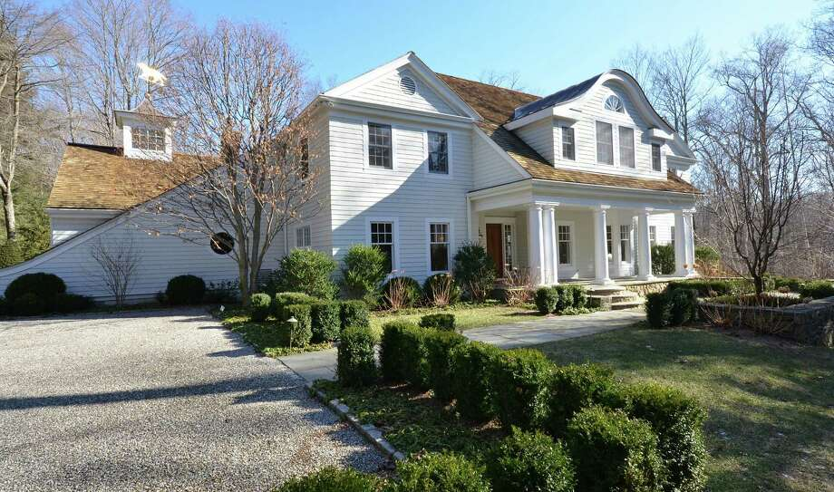 The property at 279 Rosebrook Road is on the market for $3,295,000. Photo: Contributed Photo / New Canaan News