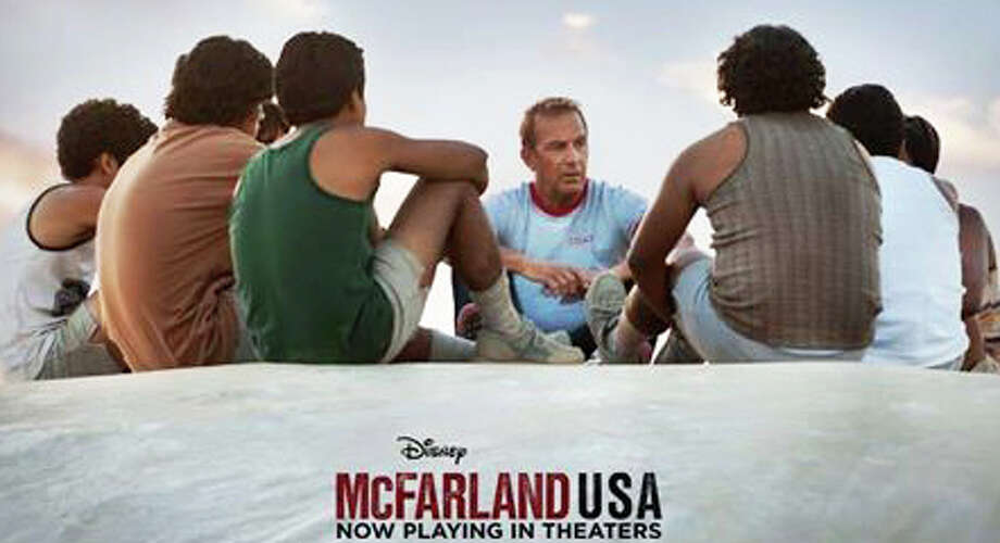 "Kevin Costner stars in ""McFarland, USA"" as the coach of a high school cross-country team in a small California town. Photo: Contributed Photo / Westport News"